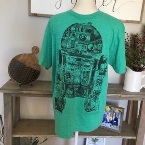 Star Wars R2D2 Comic Shirt